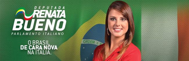 O t renata bueno dal brasile al parlamento italiano for Il parlamento italiano wikipedia